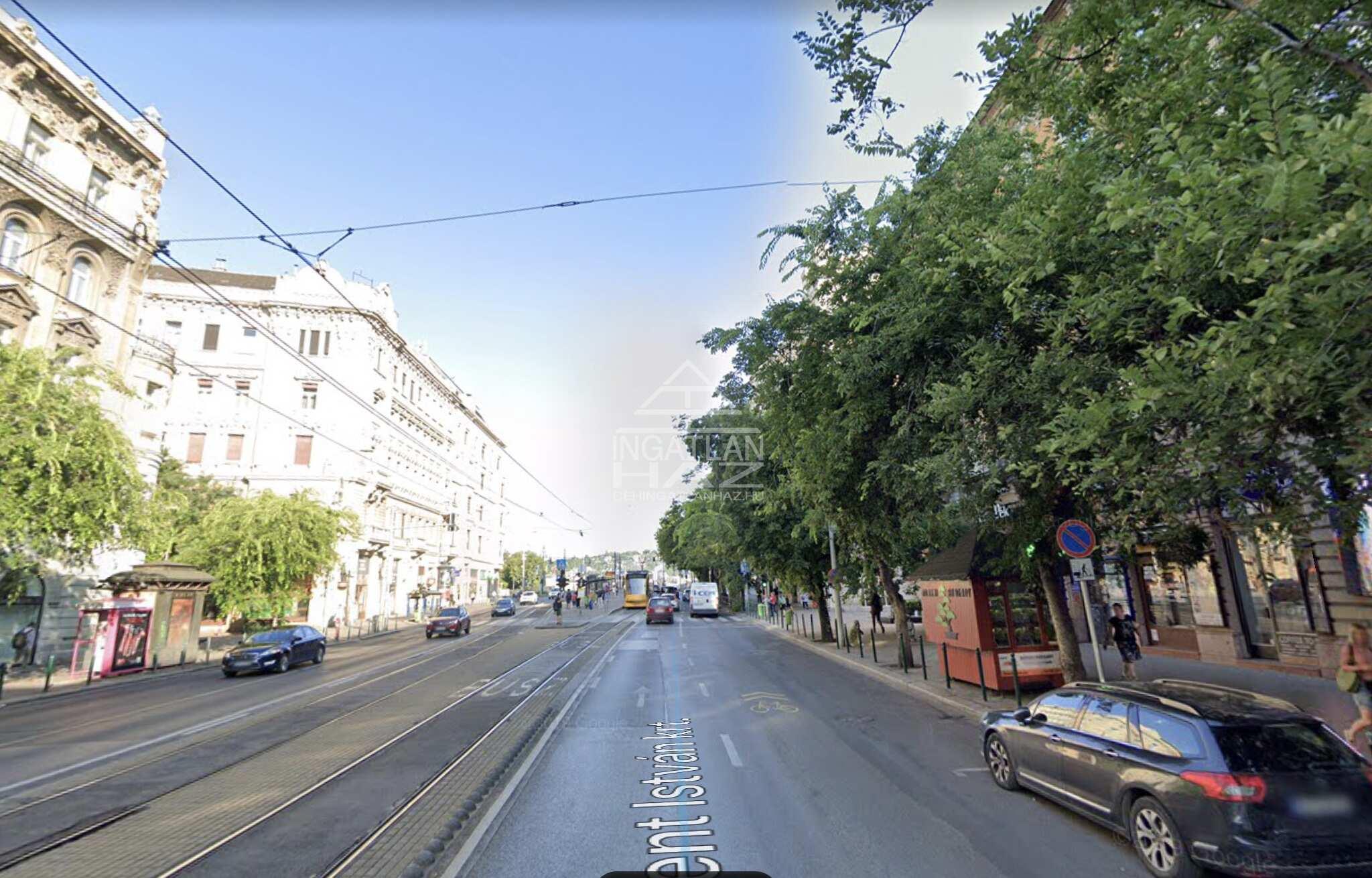 XIII.ker, Szt.István krt, 30m2, utcai,kirakatos üzlethelyiség kiadó