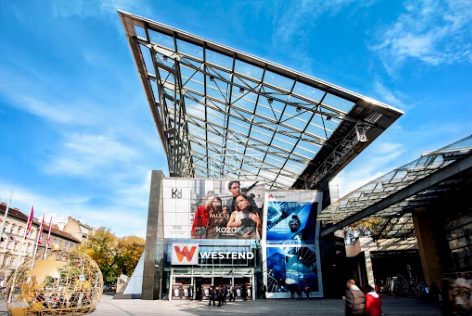 VI.ker, Teréz krt, WestEnd , 25m2, metroszint legfrekventáltabb helyén metró bejáratnál, vízesésnél üzlethelyiség kiadò