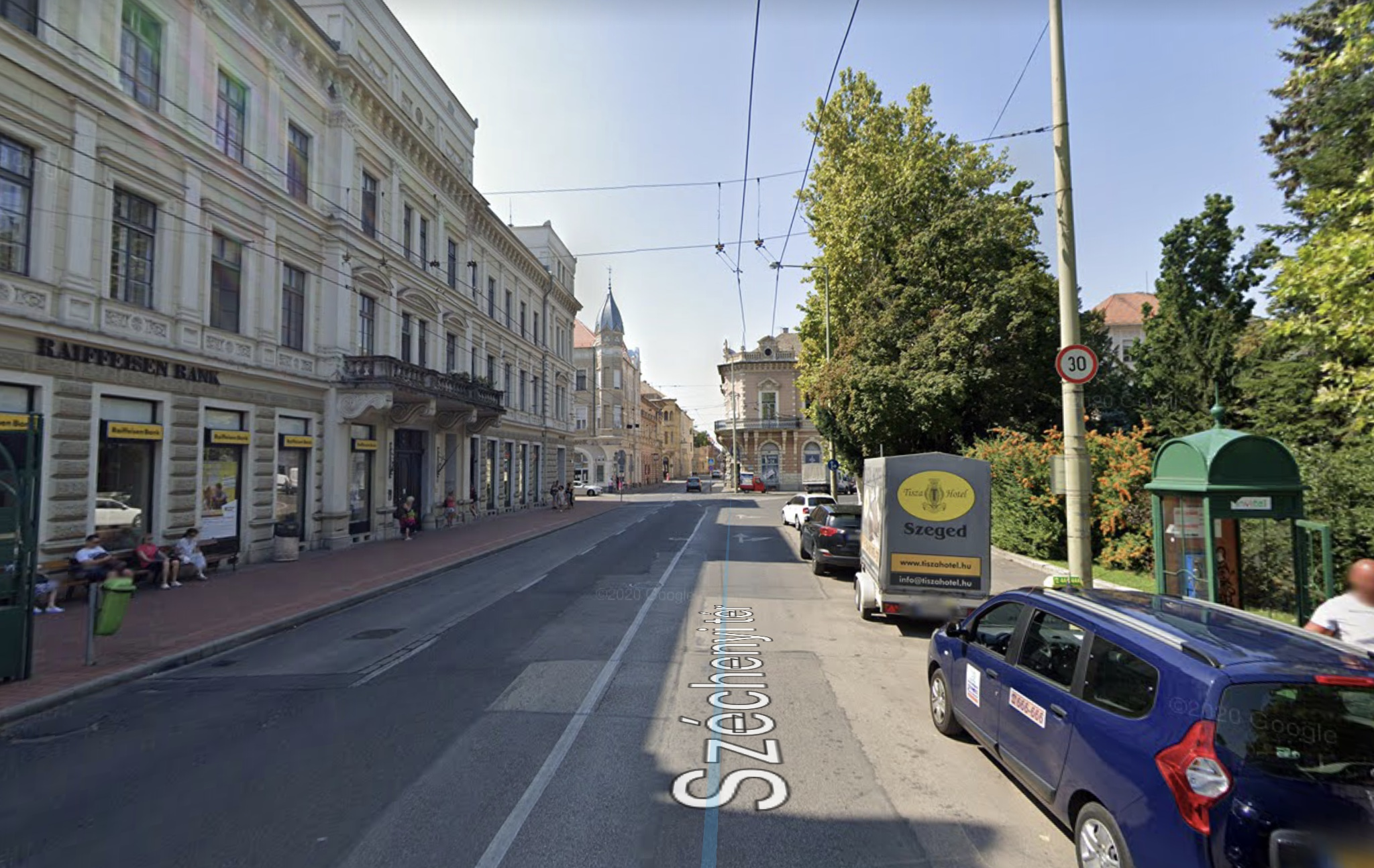 Szeged Belváros Szívében, Széchenyi térnél, Nagy J. U 40m2, Utcai,Kirakatos Üzlethelyiség Kiadó