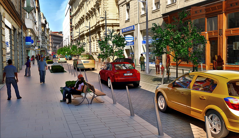 V.ker. belváros szívében,Petőfi S,u 220m2, utcai,kirakatos üzlet kiadò