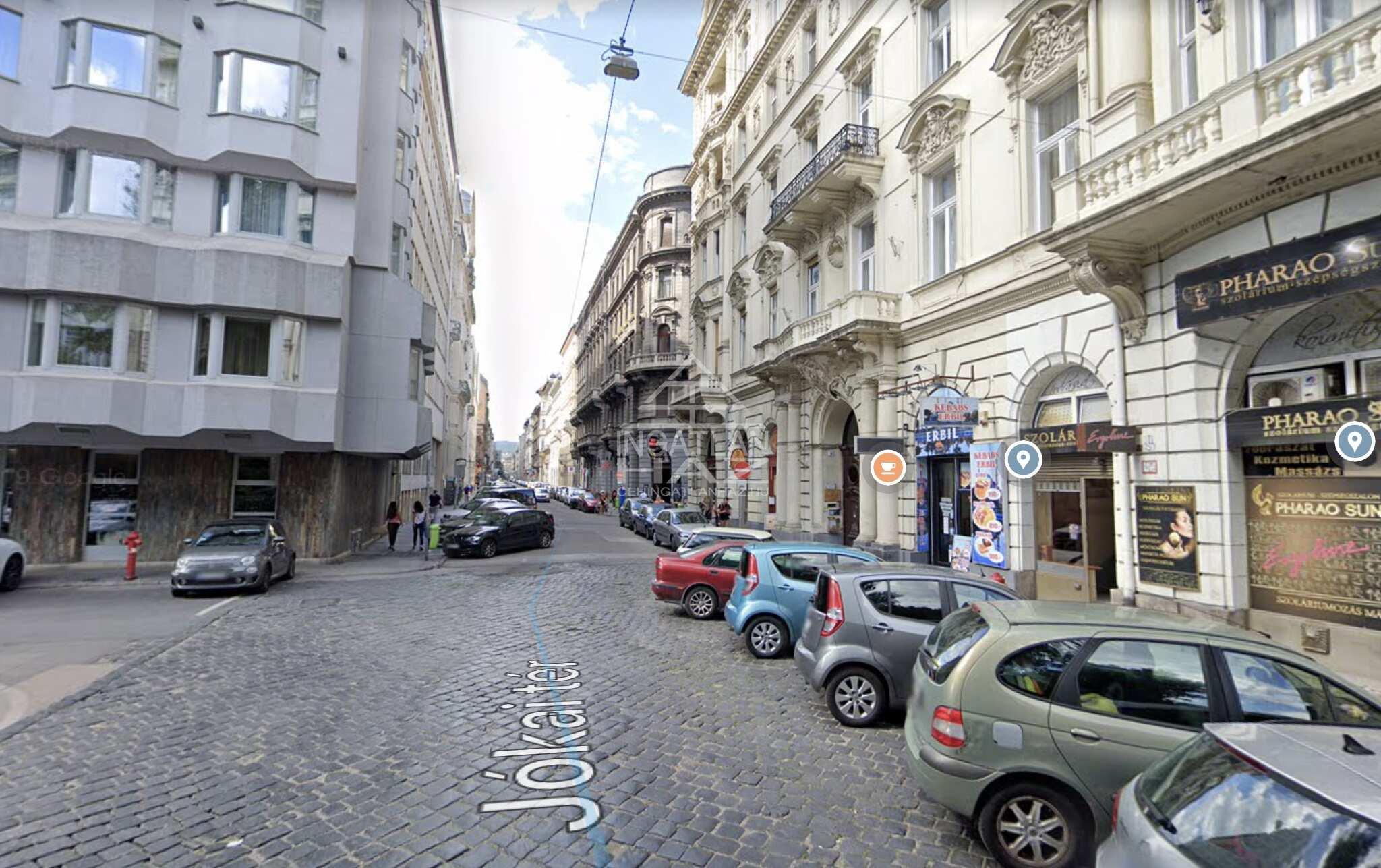 VI.ker, belváros szívében,Jókai térnél, 23m2, utcai üzlethelyiség eladó