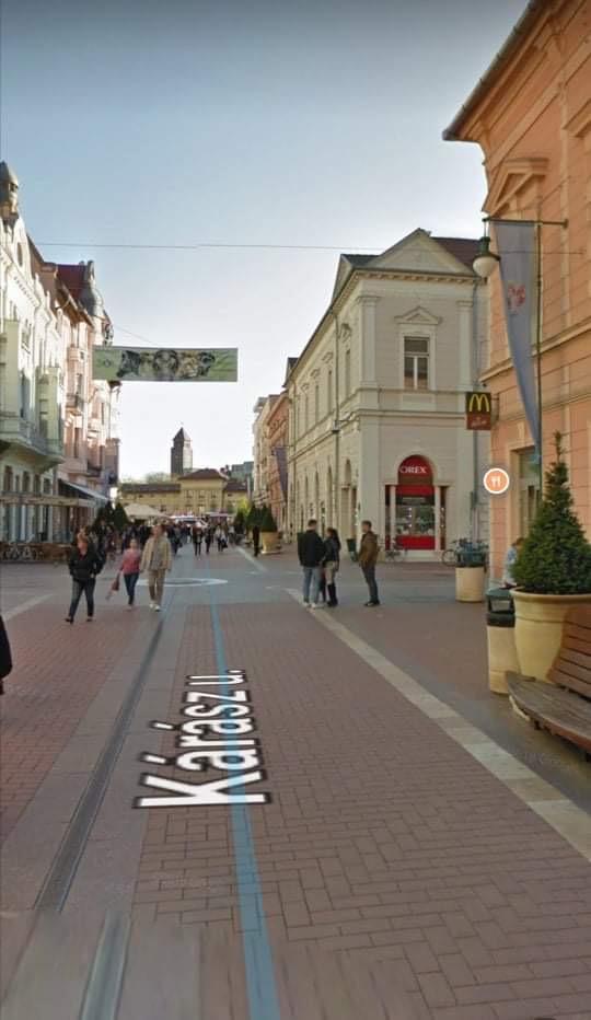 Szeged, belváros szívében , Kárász utcánál, 350m2,, utcai Kirakatos felújított üzlet kiadó