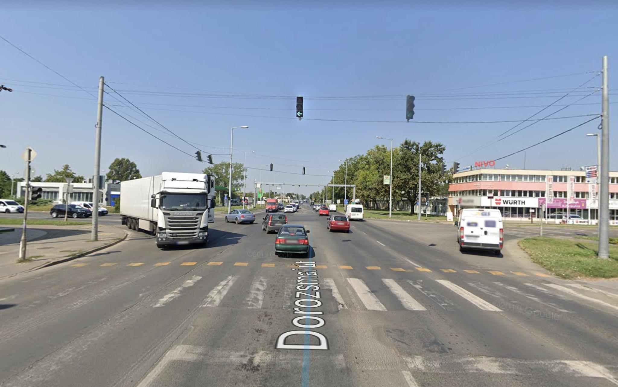 Szeged, Dorozsmai út M5 bevezető, 400m2, önállò épület, 24 Órás,  Őrzött, Raktár, Iroda, Üzlethelyiség,Ipari Ingatlan Kiadò