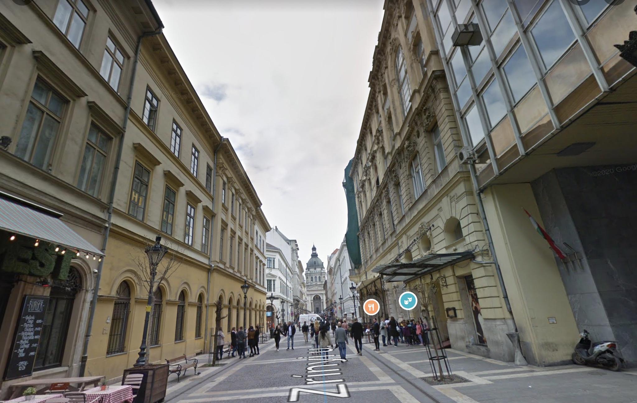 V,ker, Belváros szívében,Zrínyi u.70m2, utcai,kirakatos,melegkonyhás üzlet kiadó